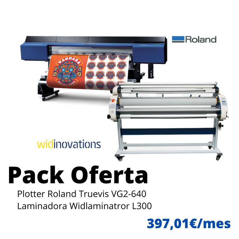 oferta roland vg2-640 y laminadora