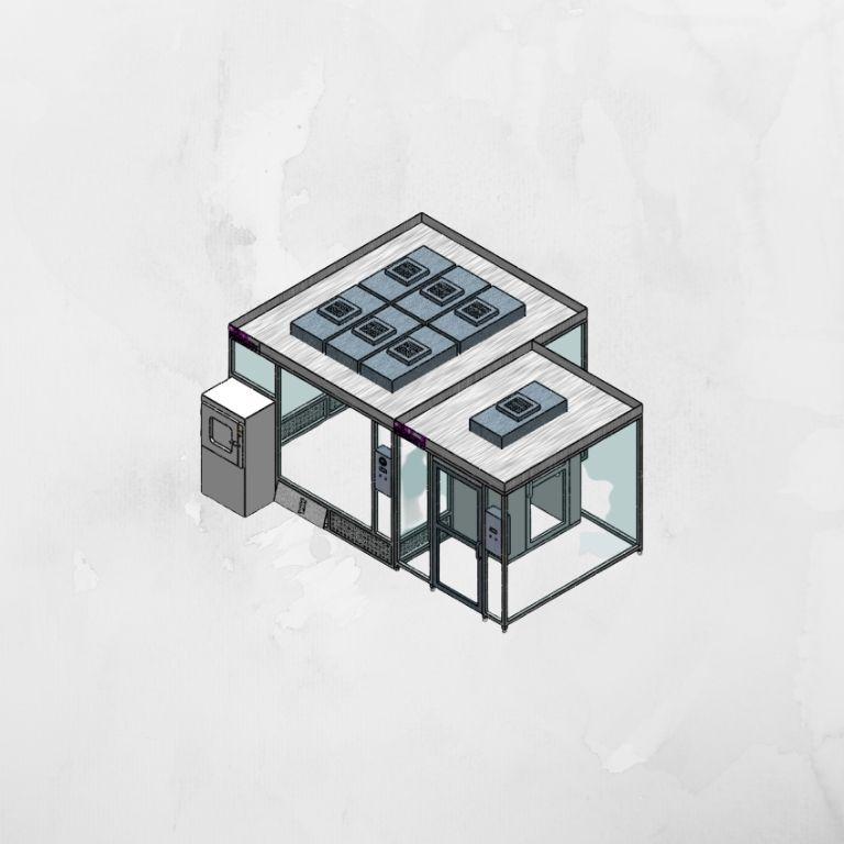 sala blanca modular